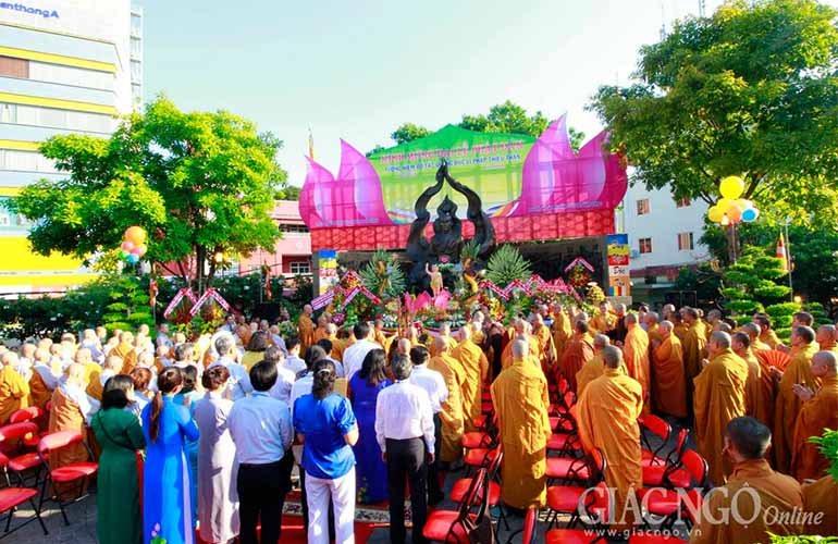 Hoạt động kính mừng Phật đản tại Q.3, Thủ Đức