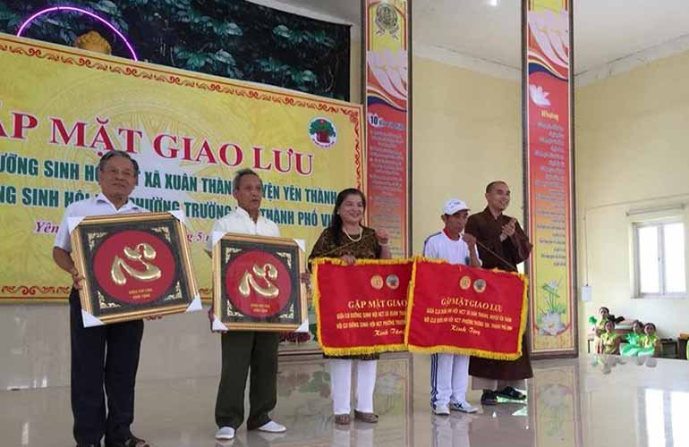 Giao lưu các CLB dưỡng sinh tại chùa Chí Linh