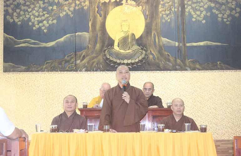Phật giáo Q.12 họp triển khai Phật đản và an cư