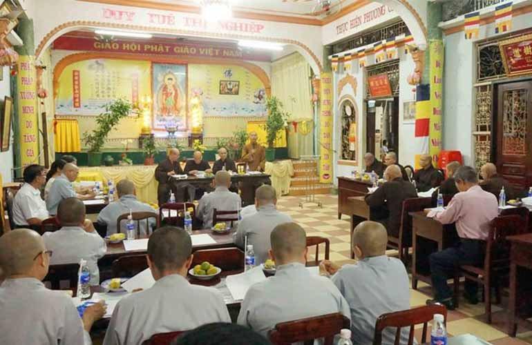 Q.1 triển khai công tác tổ chức Đại lễ Phật đản, An cư