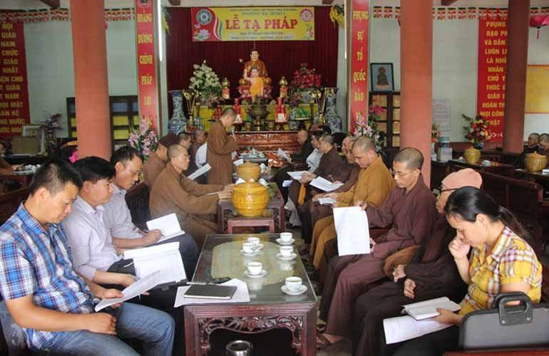 Thái Bình: Phật giáo tỉnh triển khai kế hoạch Phật đản