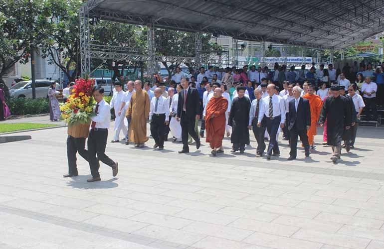 Thành viên Mặt trận tưởng niệm Chủ tịch Hồ Chí Minh